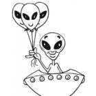 Alien Coloring Pages (11)