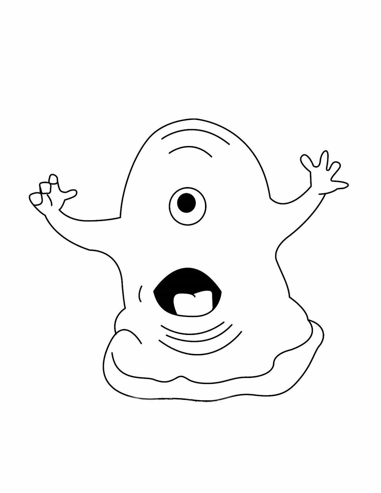 Alien Coloring Pages Inspiration Alien Coloring Pages 4  Coloring Kids Design Decoration
