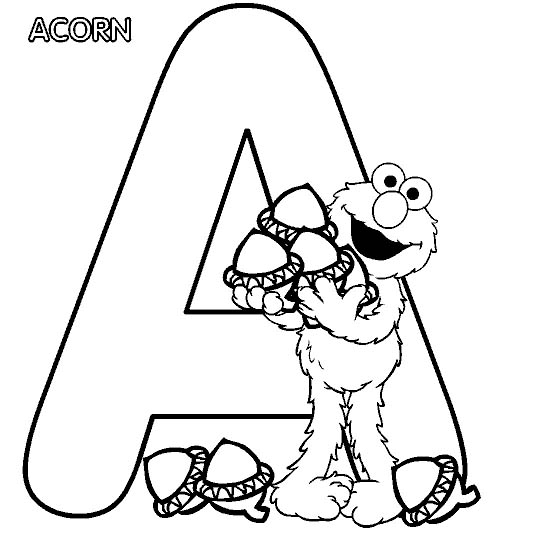 Alphabet Coloring Pages 8 Coloring Kids