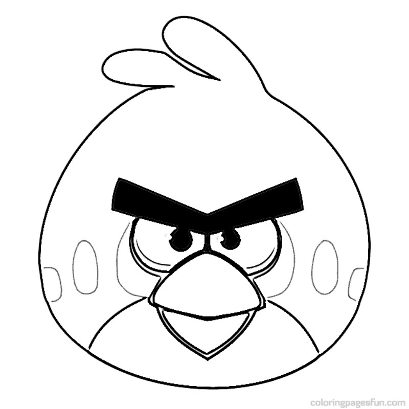 Download Angry Birds Coloring Pages 11 Print