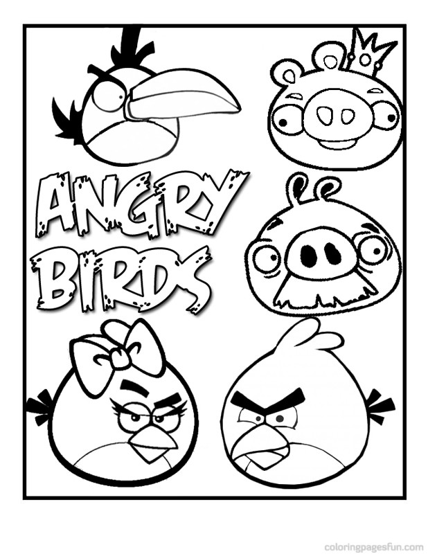 Angry Birds Coloring Pages (13) - Coloring Kids
