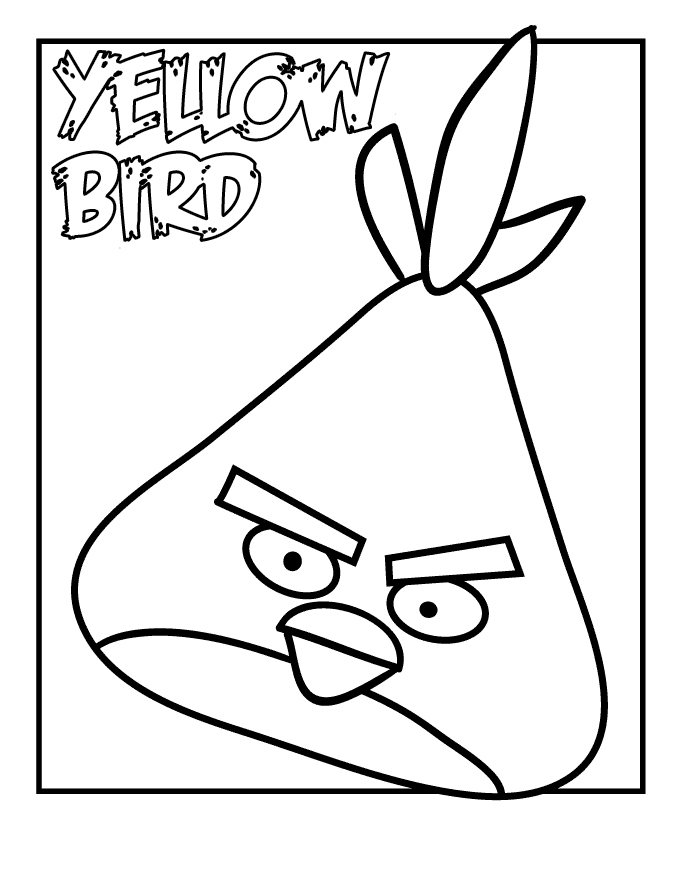 Angry Birds Coloring Pages 14 Coloring Kids Angry Birds Coloring Pages For