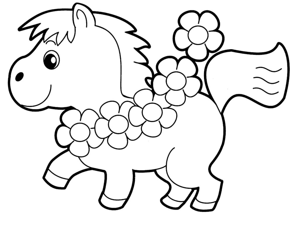 animal coloring pages - Color In Pictures For Kids