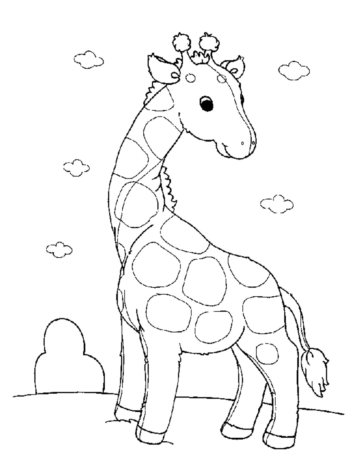 Vertebrate Animals Coloring Pages : Animal coloring pages kids