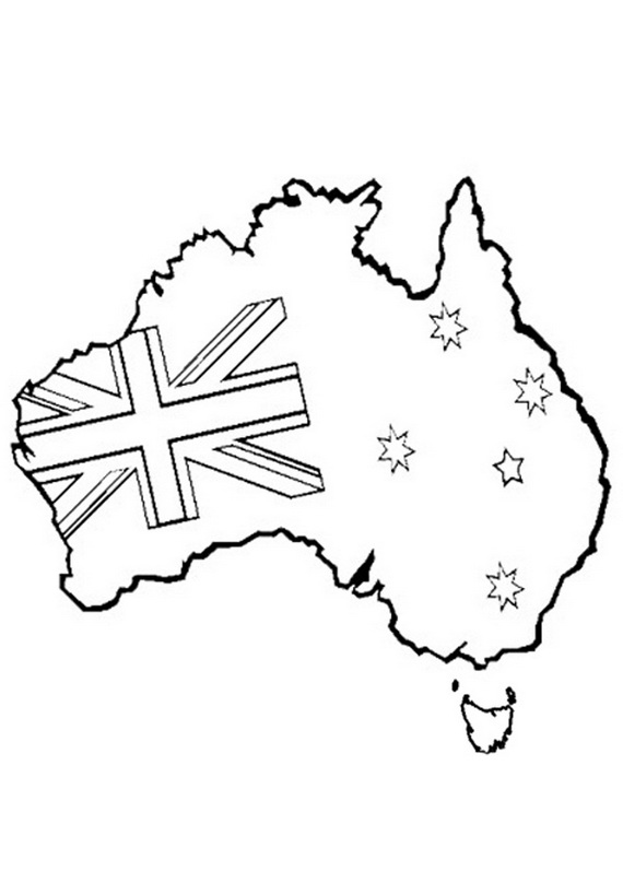 Australia day coloring pages 11 coloring kids for Australia day coloring pages
