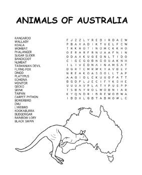 australia day coloring pages 4 coloring kids