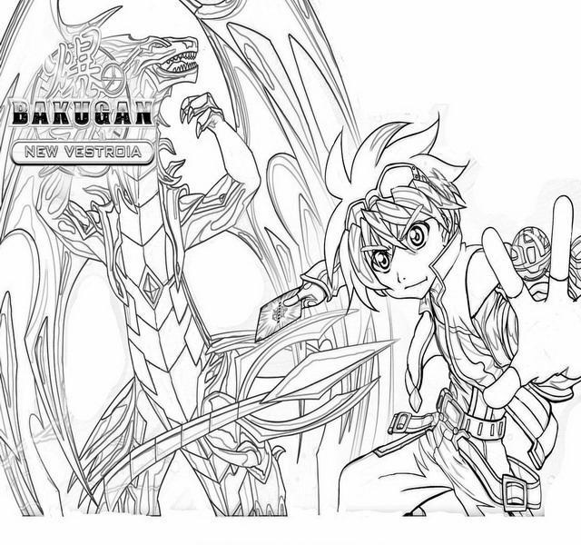 Bakugan Coloring Pages28