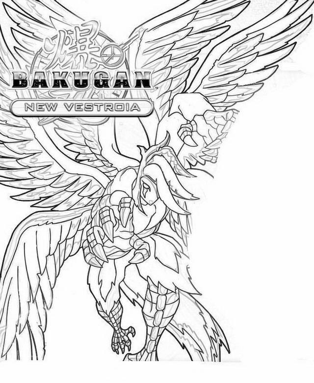 Bakugan Coloring Pages29 Coloring Kids