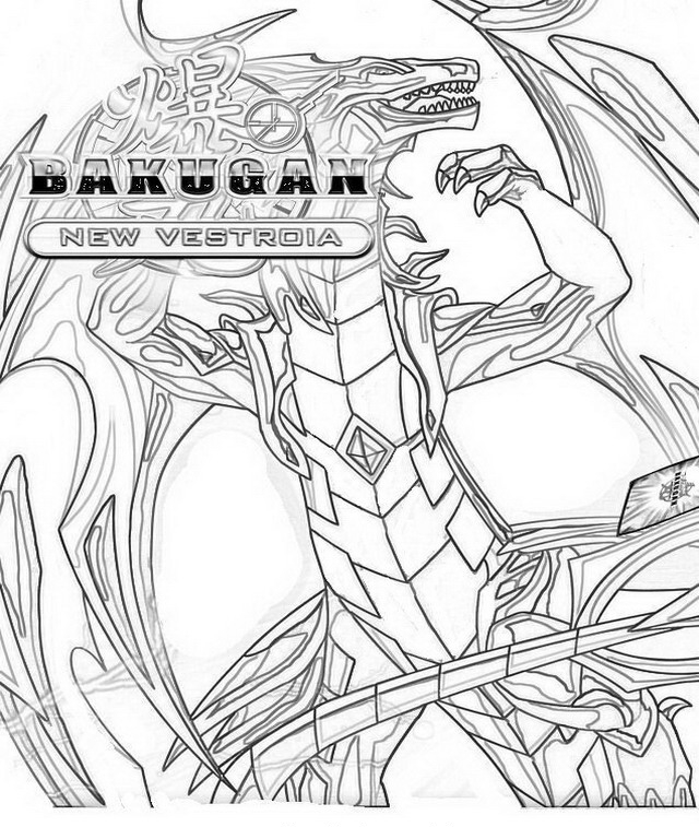 BakuganColoringPages32 Coloring