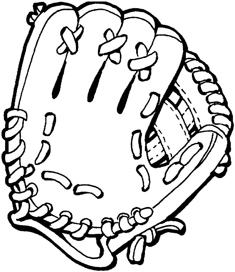 Baseball Coloring Pages 1 Coloring Kids