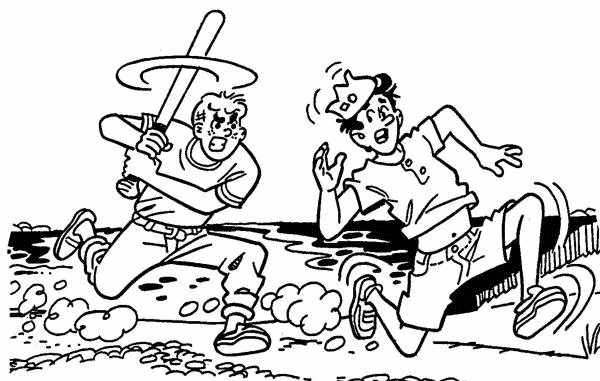 Baseball Coloring Pages (1)