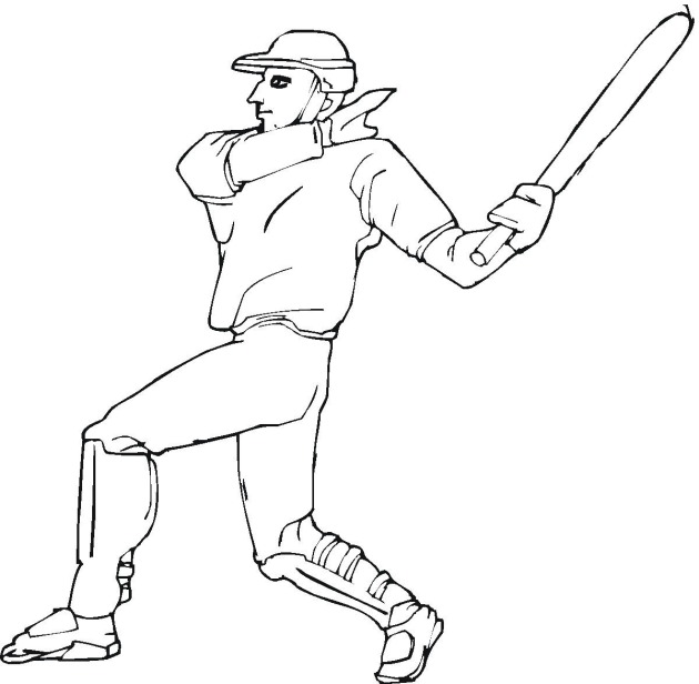 Baseball Coloring Pages (10)