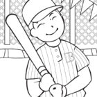Baseball Coloring Pages (15)