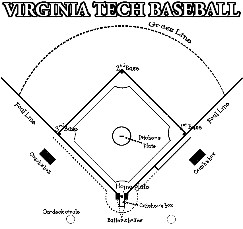 coloring book pages baseball field - photo#14