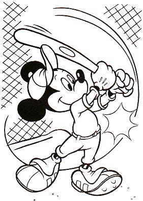 Baseball Coloring Pages (4)