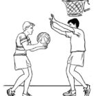 Basketball Coloring Pages (1)