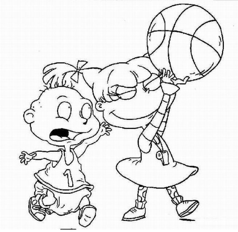 basketball coloring pages 5 coloring kids