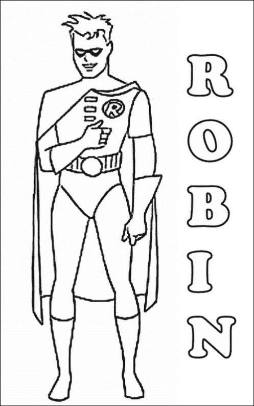 Batman Coloring Pages (2)