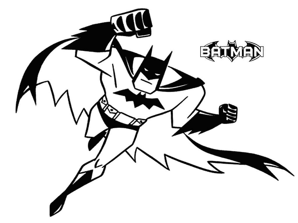 Batman Coloring Pages (4)