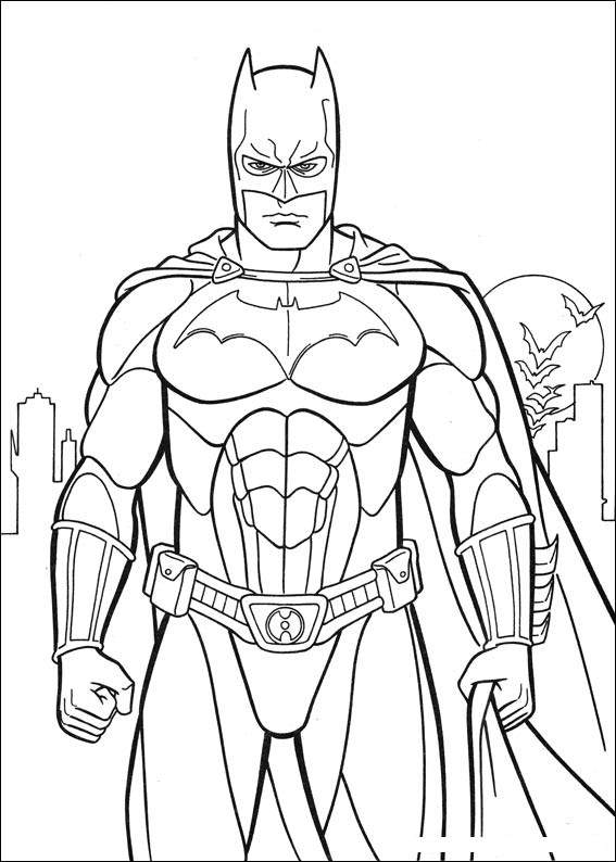 Batman Coloring Pages 6 Coloring Kids