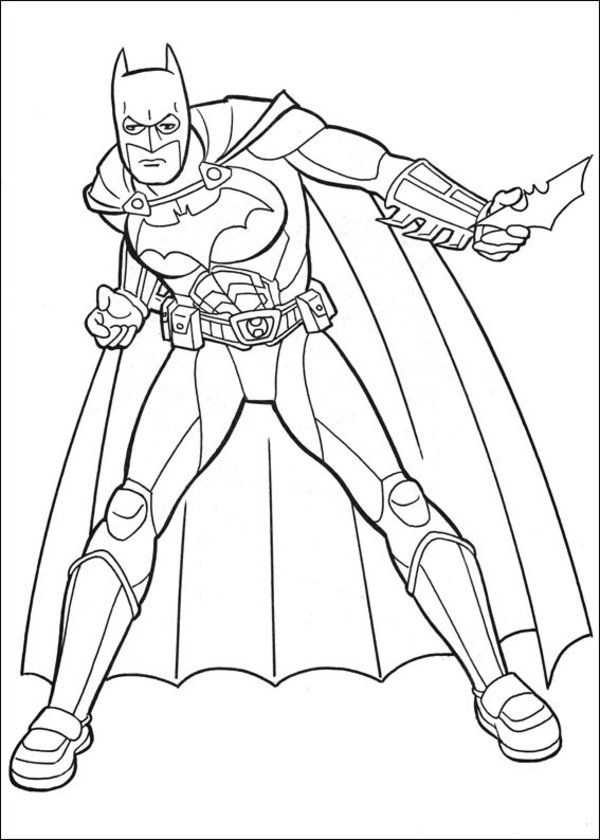 Batman Coloring Pages (9) | Coloring Kids