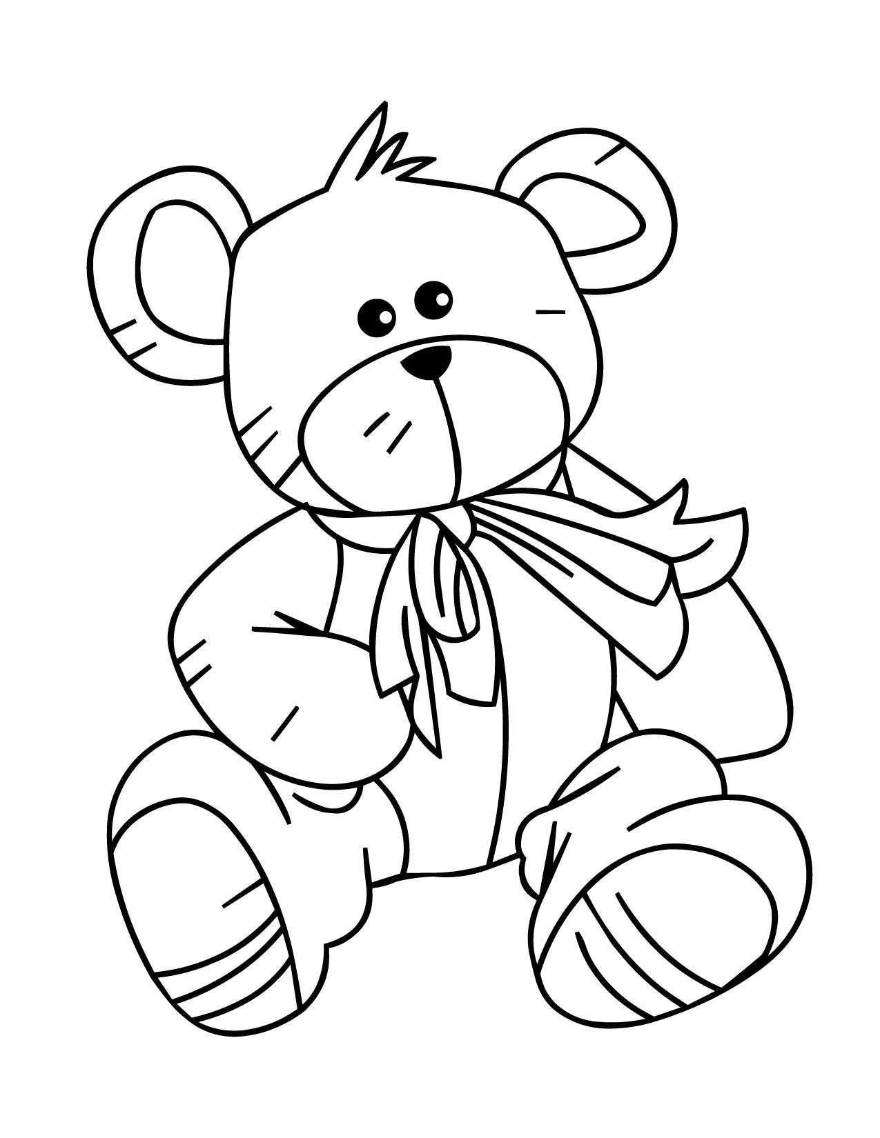 Bear Coloring Pages (7)
