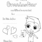 GRANDPARENTS DAY Coloring pages - Happy grandparents\' day