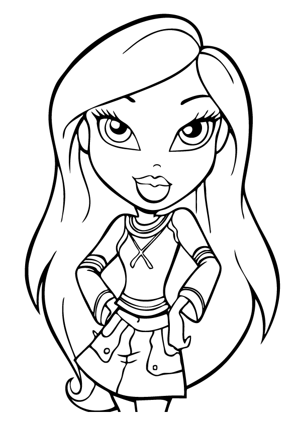 Bratz Coloring Pages 2