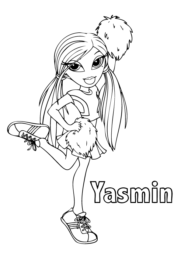 free coloring pages of bratz - photo#24