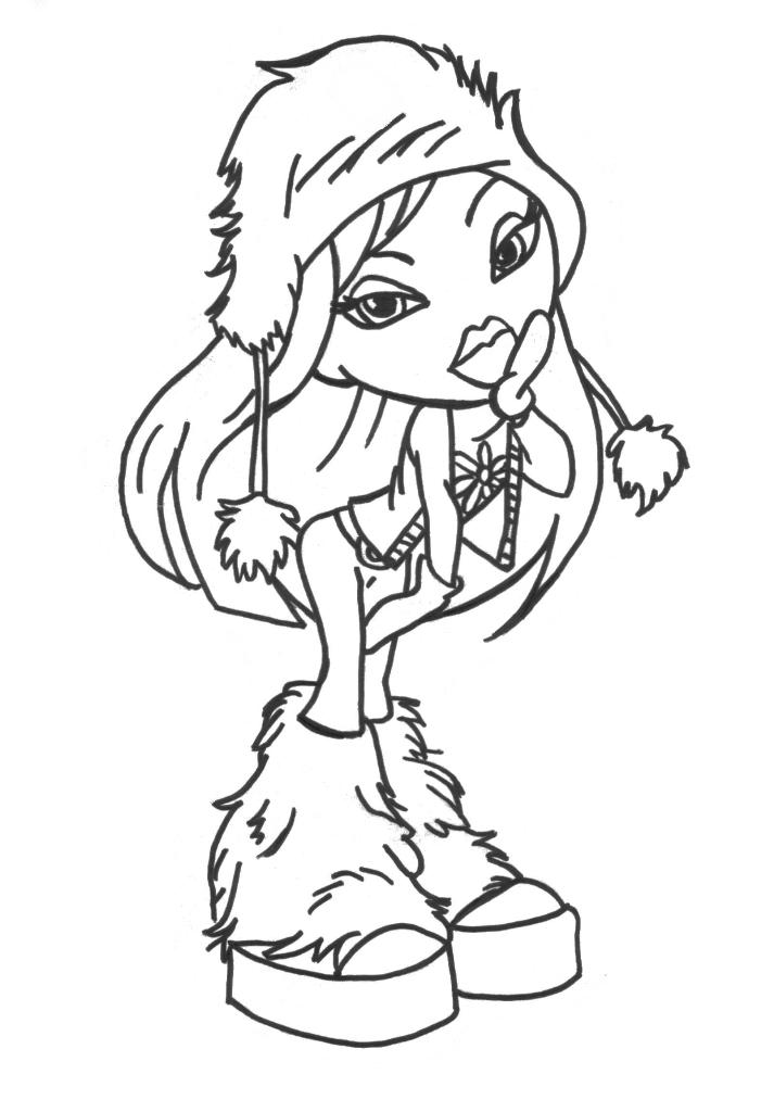 brat coloring book pages - photo#20