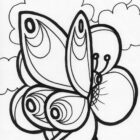 butterfly coloring pages 2 140x140 Butterfly Coloring Pages