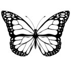 butterfly coloring pages 6 140x140 Butterfly Coloring Pages