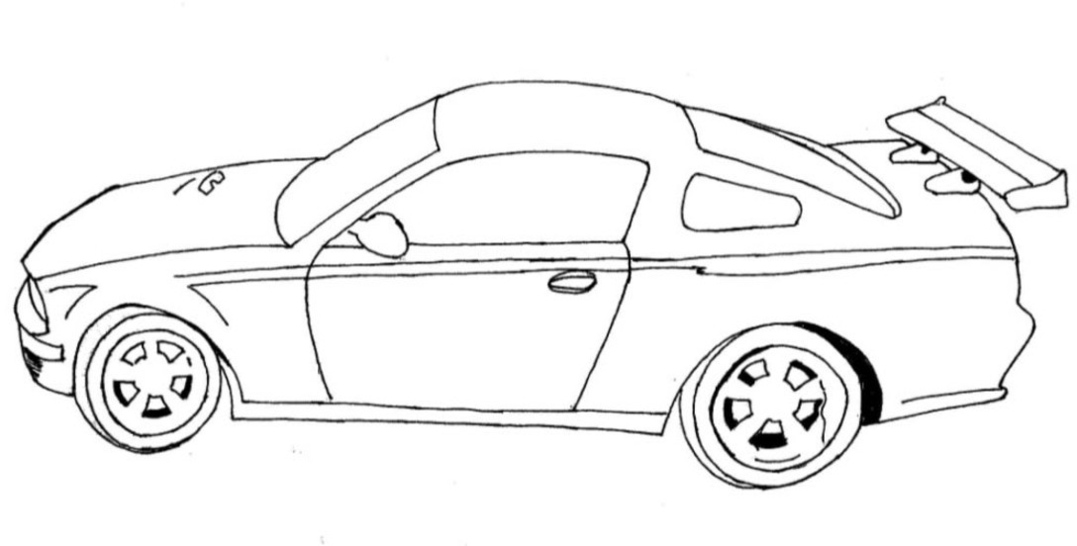 camaro coloring pages for kids coloringkidsorg - Car Coloring Page