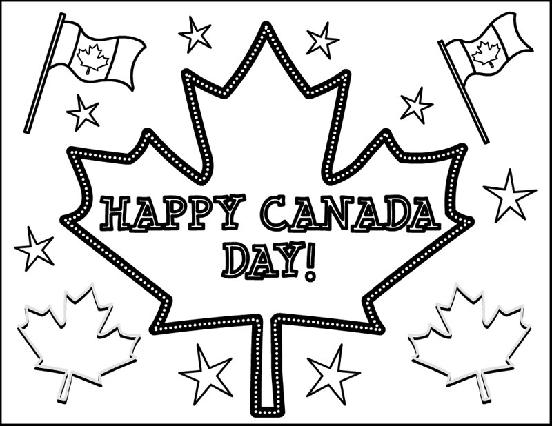 Canada Day Coloring 7 Coloring Kids Canada Colouring Pages