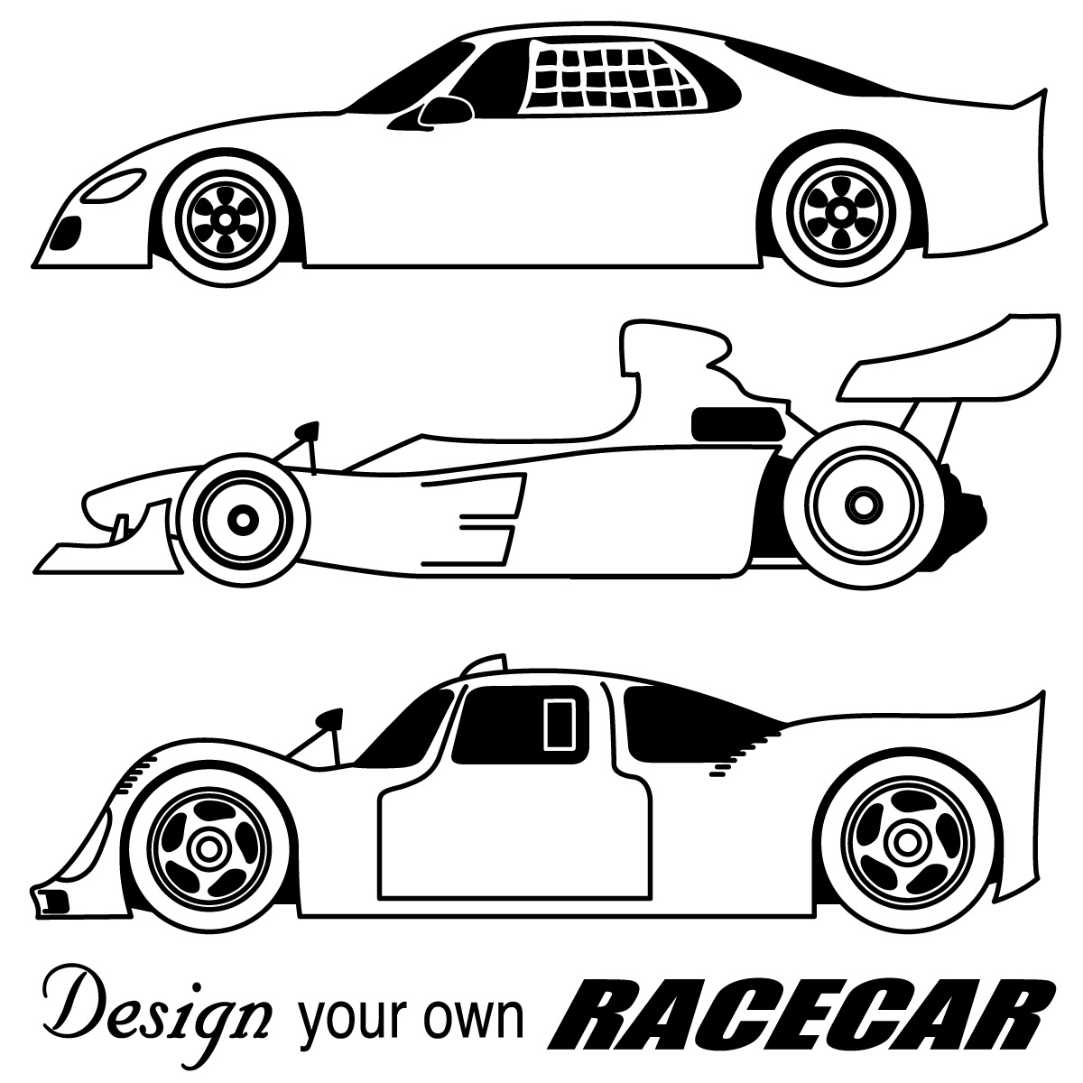 Download Car Coloring Pages 1 Print