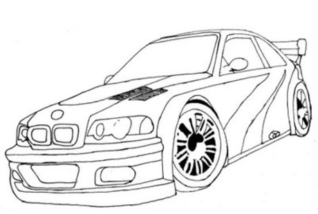 Car Coloring Pages | - Coloring Kids