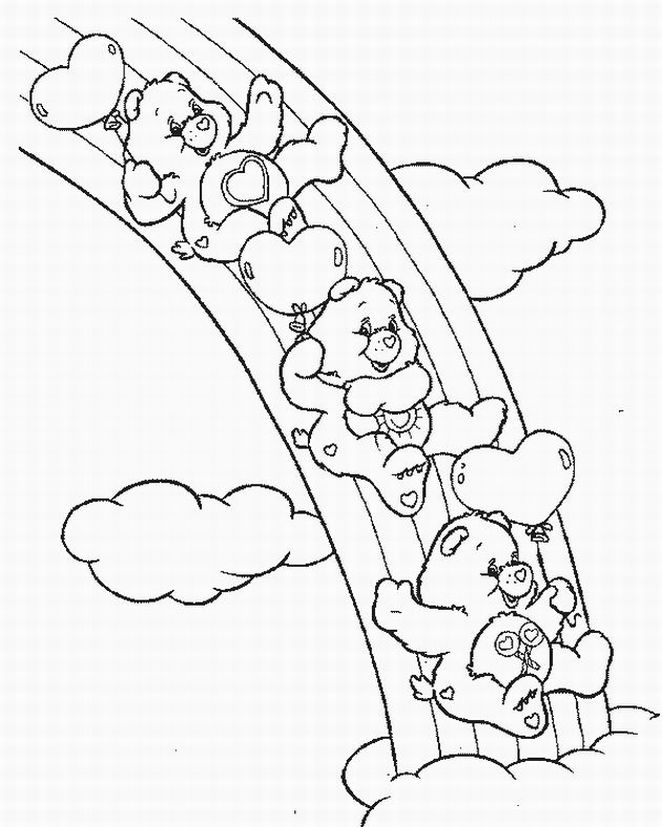 Care Bears Coloring Pages 10 Coloring Kids
