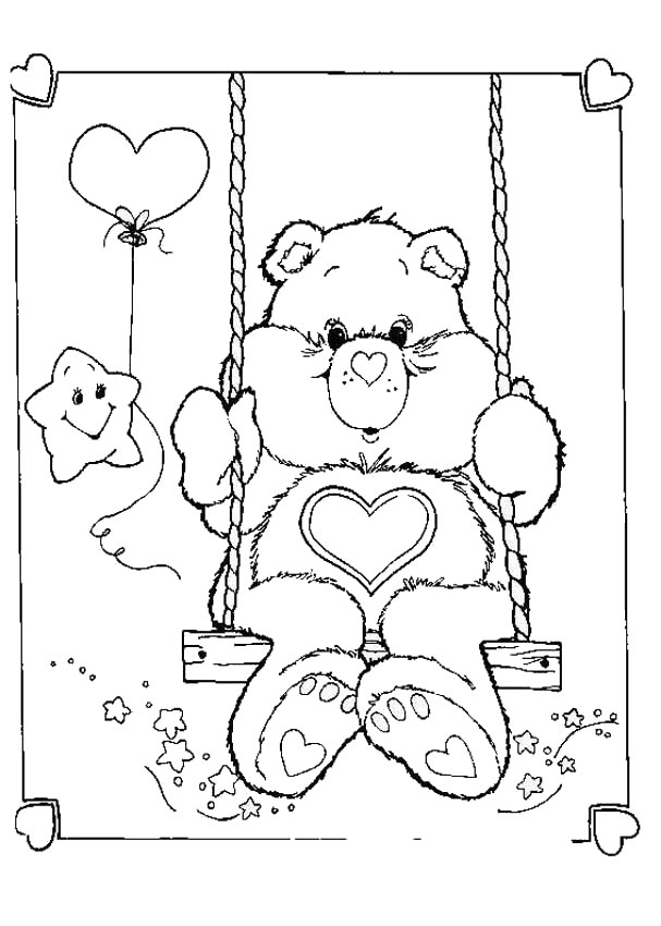 Care Bears Coloring Pages 3