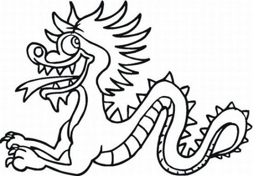 Chinese new year animals coloring pages coloring kids for Chinese new year animals coloring pages