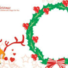 christmas cards templates 12 140x140 Christmas Coloring Cards