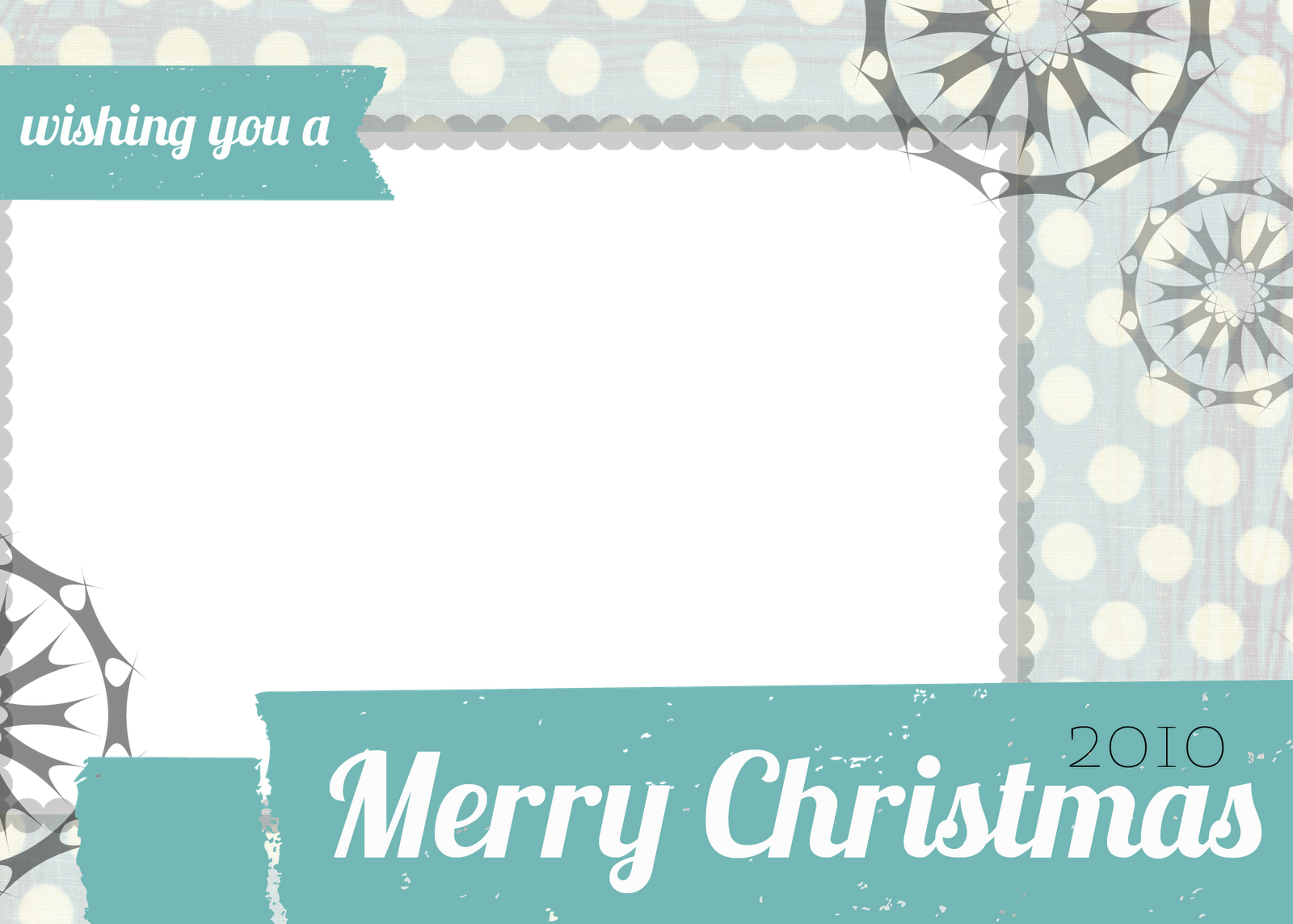 Holiday Card Template Free  EczaSolinfCo