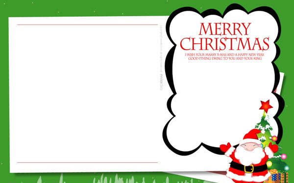 free kids christmas cards templates 4 activities christmas cards ...