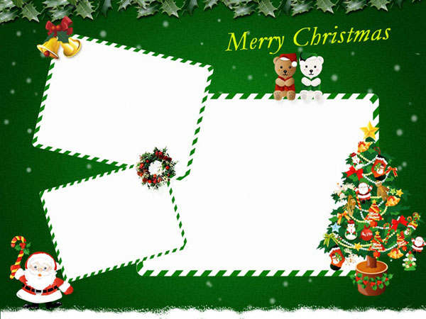 Christmas Card Template For Kids Christmas Cards Templates 5