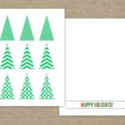 christmas cards templates 9 140x140 Christmas Coloring Cards
