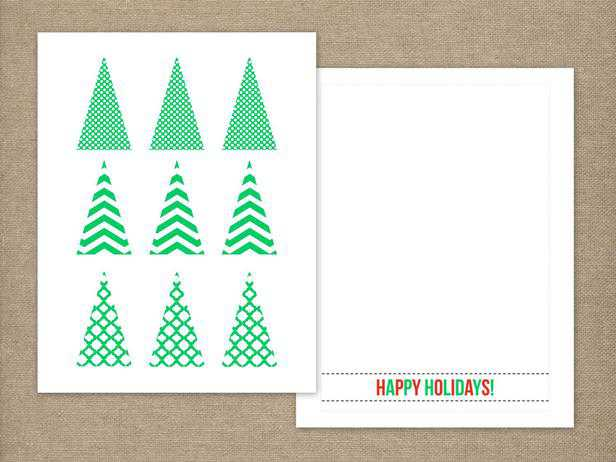 Christmas Card Template For Kids Christmas Cards Templates 9