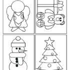 christmas coloring cards 4 140x140 Christmas Coloring Cards
