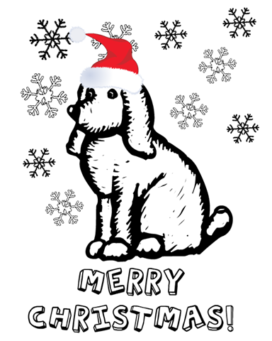 Christmas Coloring Cards Design Ideas 1
