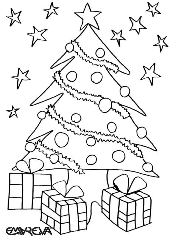 christmas greeting coloring pages-#45
