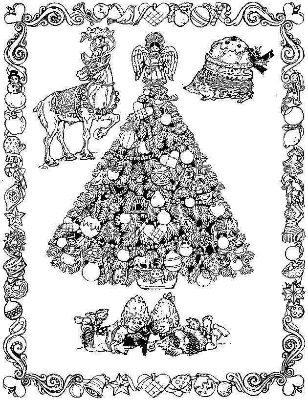 Christmas Coloring Cards Design Ideas (9)