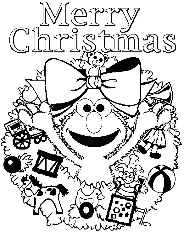 download christmas coloring pages 12 print - Christmas Print Coloring Pages